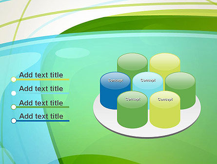 Bubble and Lines Abstract PowerPoint Template Slide 12