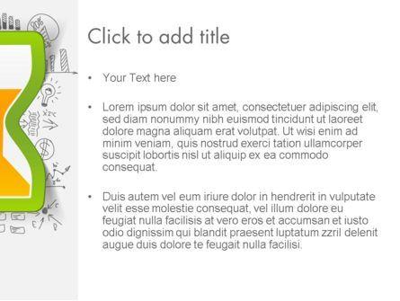 Time Glass PowerPoint Template, Slide 3, 13731, Business Concepts — PoweredTemplate.com