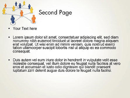 People Network Connections PowerPoint Template Slide 2