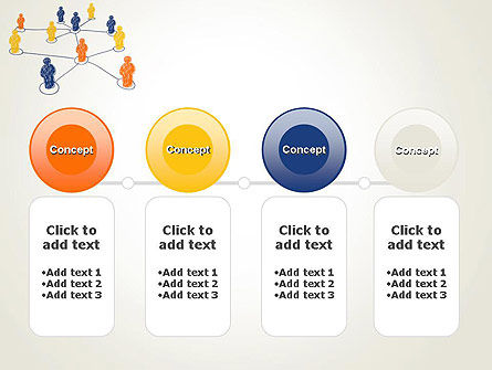 People Network Connections PowerPoint Template Slide 5