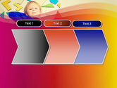 Boy with Tangram Puzzles PowerPoint Template#16