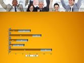 Rejoicing Business People PowerPoint Template#11