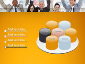Rejoicing Business People PowerPoint Template#12