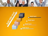 Rejoicing Business People PowerPoint Template#14