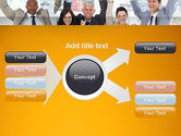 Rejoicing Business People PowerPoint Template#15