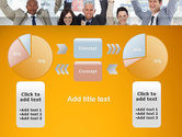 Rejoicing Business People PowerPoint Template#16