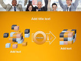 Rejoicing Business People PowerPoint Template#17