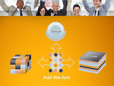 Rejoicing Business People PowerPoint Template#19