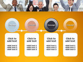 Rejoicing Business People PowerPoint Template#5