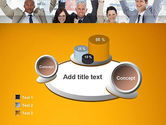 Rejoicing Business People PowerPoint Template#6