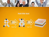 Rejoicing Business People PowerPoint Template#9