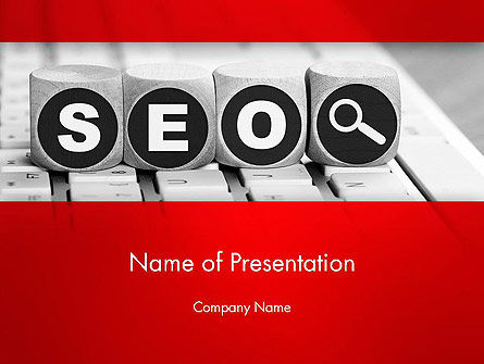 SEO Services PowerPoint Template, 13736, Careers/Industry — PoweredTemplate.com