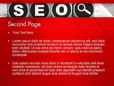 SEO Services PowerPoint Template Slide 2