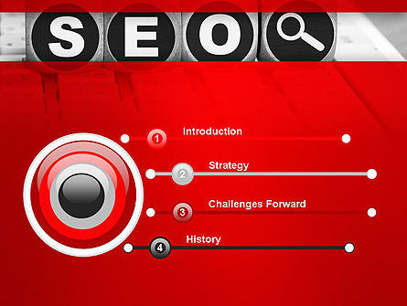 SEO Services PowerPoint Template Slide 3