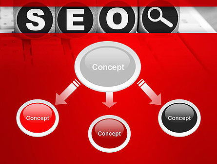 SEO Services PowerPoint Template, Slide 4, 13736, Careers/Industry — PoweredTemplate.com