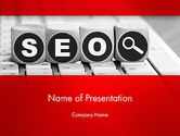 Careers/Industry: SEO Services PowerPoint Template #13736