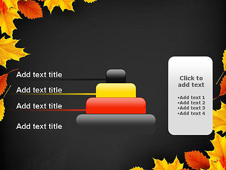 Back To School Themed Frame PowerPoint Template Slide 8