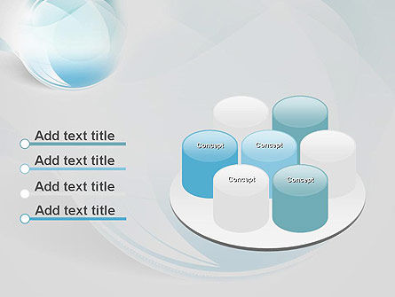 Water Drop Themed Abstract PowerPoint Template Slide 12