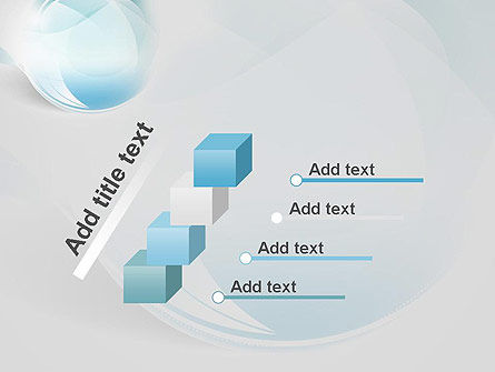 Water Drop Themed Abstract PowerPoint Template Slide 14