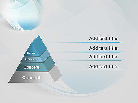 Water Drop Themed Abstract PowerPoint Template Slide 4