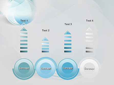 Water Drop Themed Abstract PowerPoint Template Slide 7