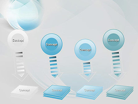 Water Drop Themed Abstract PowerPoint Template Slide 8