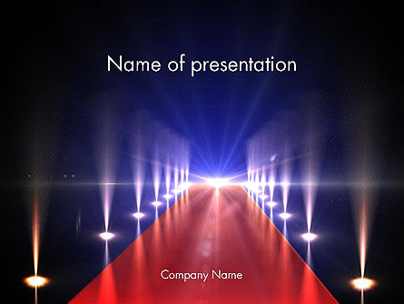 Art & Entertainment: Nightlife PowerPoint Template #13739