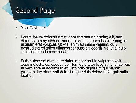 Abstract Broken Ice PowerPoint Template, Slide 2, 13740, Abstract/Textures — PoweredTemplate.com
