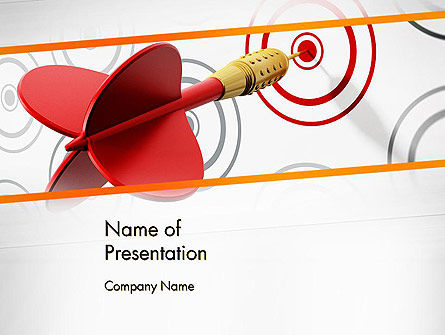 Multiple Targets PowerPoint Template, 13742, Business Concepts — PoweredTemplate.com