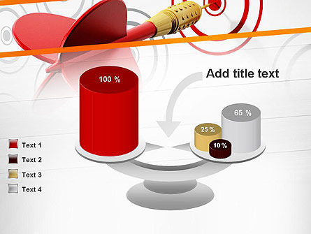 Multiple Targets PowerPoint Template Slide 10
