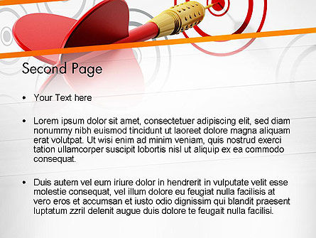 Multiple Targets PowerPoint Template, Slide 2, 13742, Business Concepts — PoweredTemplate.com