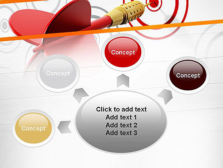 Multiple Targets PowerPoint Template Slide 7