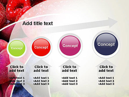 Fruits Swirl PowerPoint Template Slide 13