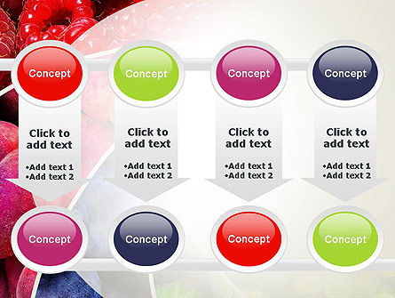 Fruits Swirl PowerPoint Template Slide 18