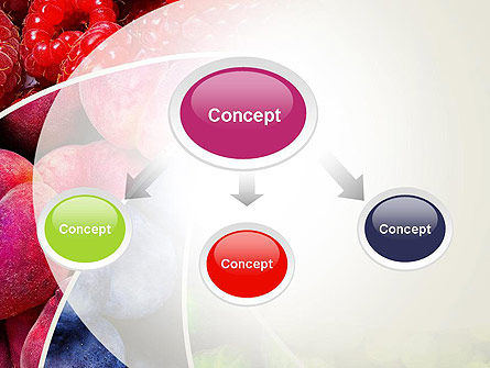 Fruits Swirl PowerPoint Template Slide 4