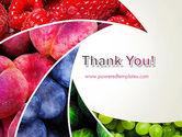 Fruits Swirl PowerPoint Template#20