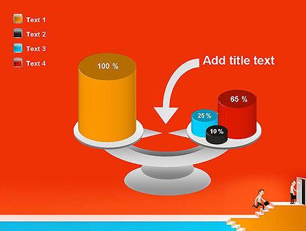 Climbing Ladder Illustration PowerPoint Template Slide 10