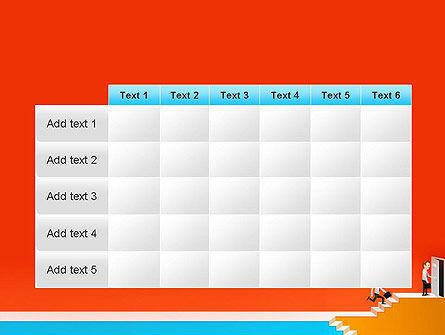 Climbing Ladder Illustration PowerPoint Template Slide 15