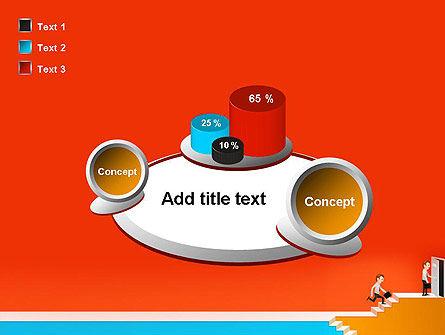 Climbing Ladder Illustration PowerPoint Template Slide 16