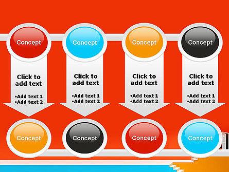 Climbing Ladder Illustration PowerPoint Template Slide 18
