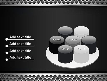 Metal Abstract Texture PowerPoint Template Slide 12