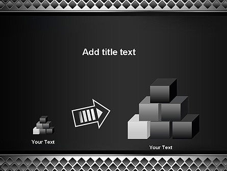 Metal Abstract Texture PowerPoint Template Slide 13