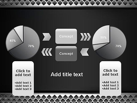 Metal Abstract Texture PowerPoint Template Slide 16