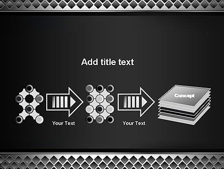 Metal Abstract Texture PowerPoint Template Slide 9