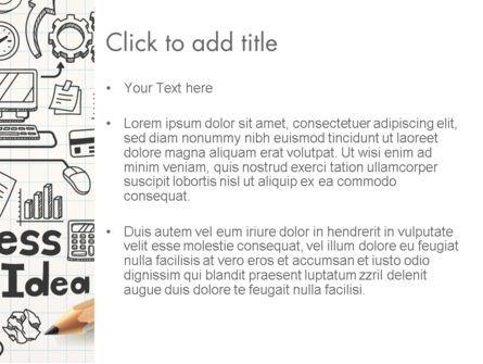 Business Doodles PowerPoint Template, Slide 3, 13748, Business — PoweredTemplate.com