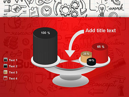 Business Doodles PowerPoint Template Slide 10