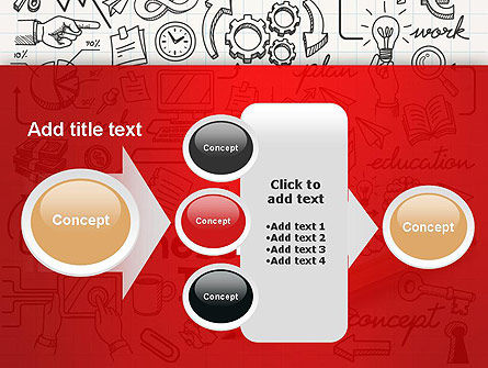 Business Doodles PowerPoint Template Slide 17