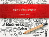 Business: Business Doodles PowerPoint Template #13748