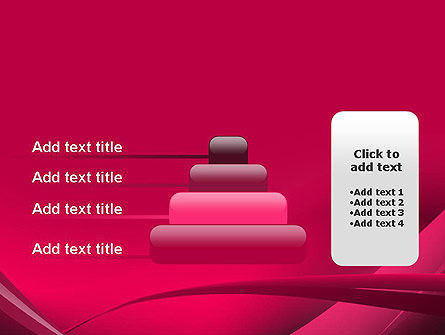 Waves and Eddies Abstract PowerPoint Template Slide 8