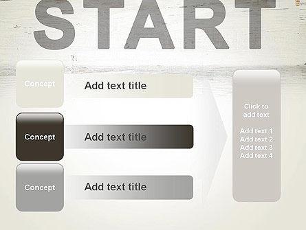 Start PowerPoint Template Slide 12